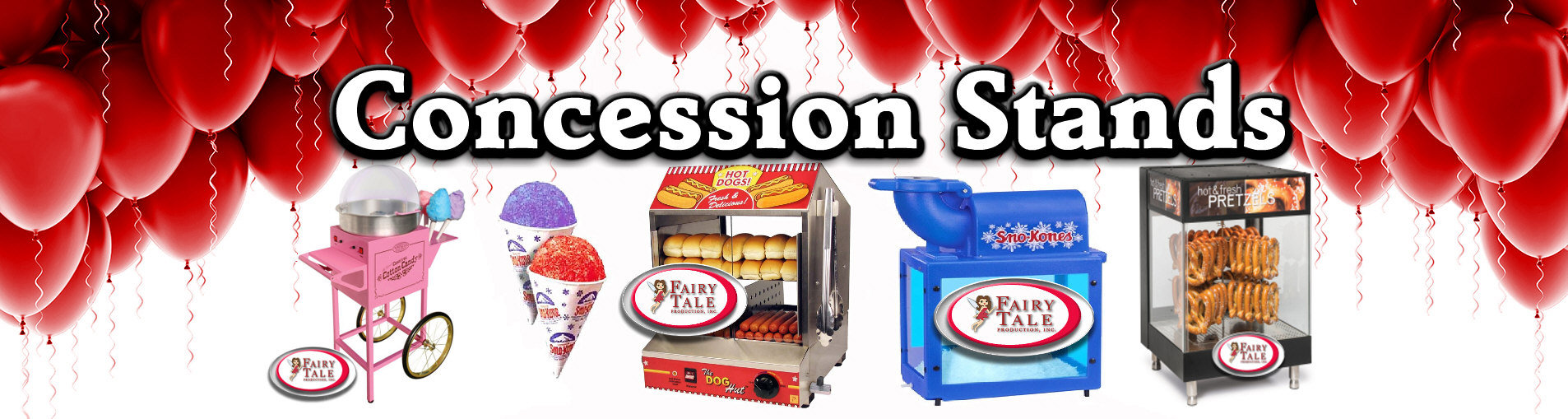 Long Island Party Rental Concession Stands