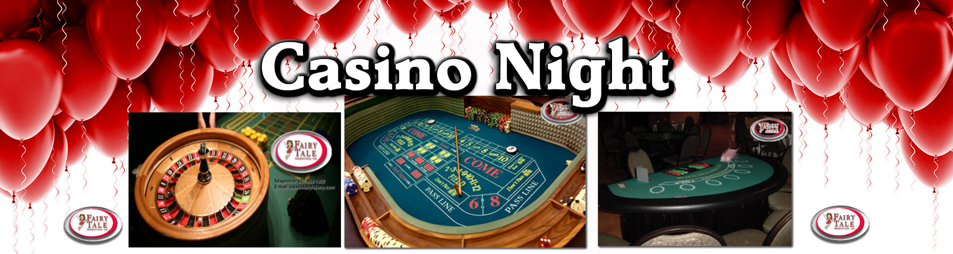 Long Island Party Casino Hosting Table Games