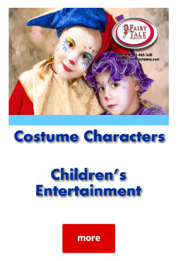 Atlantic Beach Long Island NY Costume Character Rentals