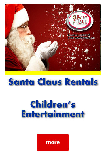 Long Island NY Atlantic Beach Santa Claus Rental Services