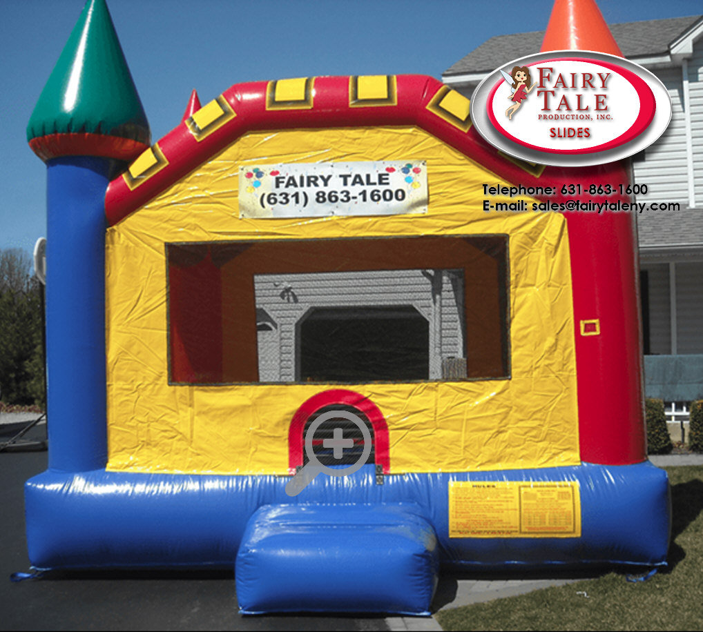 Inflatable Bouncer Slides Fairy Tale Productions